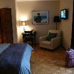 Chambre 1 (avec vue sur le parc) suite