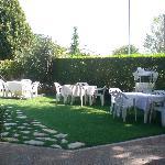 giardino estivo