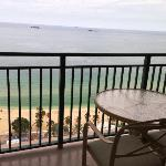 Ocean Front Balcony from my Room