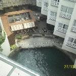 Vista desde el piso 6 Marina Resort
