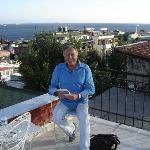 La terrasse: vue sur la mer de Marmara