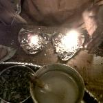 Kalkatta Fire Paan at Village