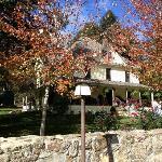 Beautiful fall day at Buck House Inn