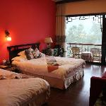 Double room with balcony and river view
