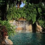 der Wasserfall vom Pool... herrlich!