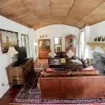 Adobe House living room