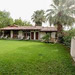Adobe House backyard