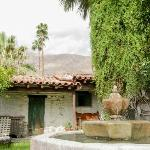 Adobe House fountain