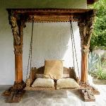 Adobe House swing