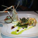 Langostino, Snapper and Scallop