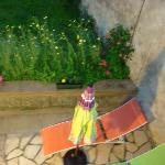 salon de jardin chambre RDC