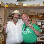 Having a smoke with Havana Bob