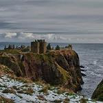 Dunnottar overlooking the North Sea