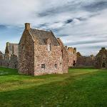On the grounds of Dunnottar