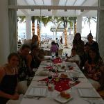 Dinner at the Italian