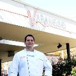 Chef John Varanese outside his restaurant