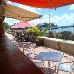 Speightstown Esplanade and Pier from outside deck