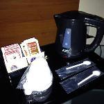 Caffettiera elettrica in camera