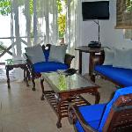 "Typical Balinese casita furnishings.... ""barefoot luxury"""