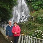 Waterfall near Lake of Fire