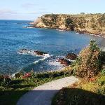 one of the many beautiful coastal scenes