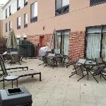 Have fun on our outdoor patio with family or friends