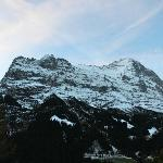 Eiger from the room