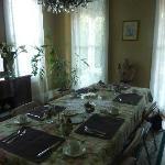Das gemütliche Eßzimmer