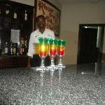 don't forget to try a bob marley shot yum yum