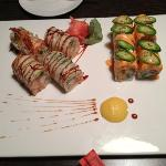 tenshi roll and angry dragon roll