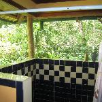 Cocos open air shower