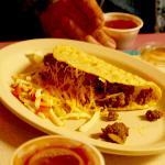 Beef taco was good american fare.
