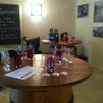 Winetasting room