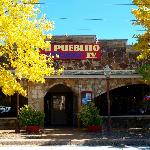 Mi Pueblito IV sits right across from the square.
