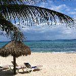 Quiet and sunny beach