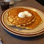 Pancakes were good.