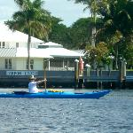 kayaking near the Tarpon Lodge