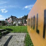 Minigolf in Wengen
