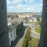 View of Listowel from the Castle Tower