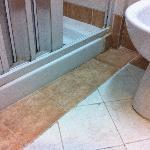 Bathroom dirt