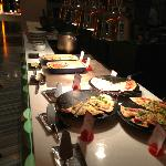 "part of the Dinner buffet at ""The Line"""