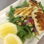 Local Delicacies - Grilled Haloumi
