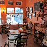 Dancing Moose Cafe at the B&B -breakfast was included. Make sure you try lunch and dinner as wel