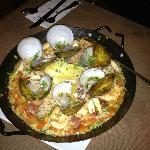 Awesome paella for 2