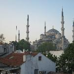 Another view of the Blue Mosque