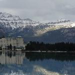 Hotel Fairmont - Lake Louise (visto à partir do Lago)