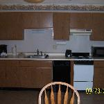 Kitchen in 2 bedroom/2 bath cottage