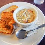 Bayou Chicken Soup w/sourdough bread
