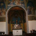 Alter at Mount Cassino Shrine
