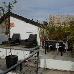 Terrace de la suite Bambou